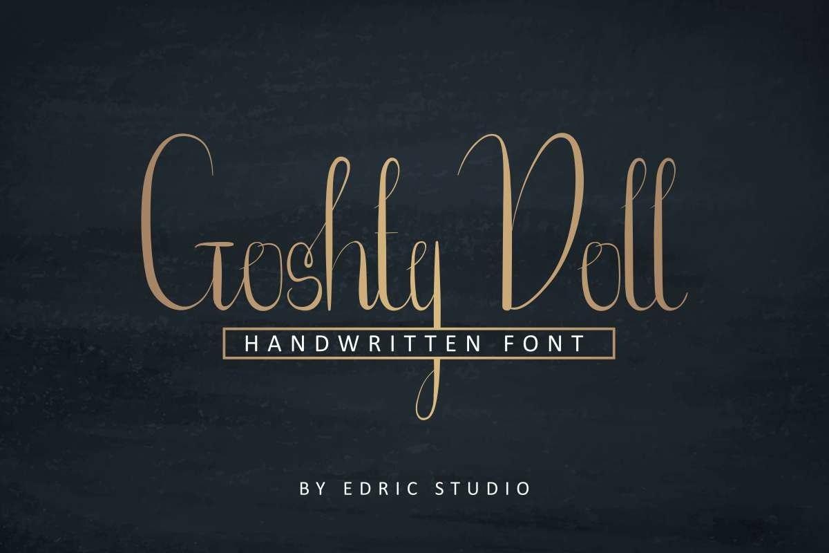 Goshty-Doll-Font