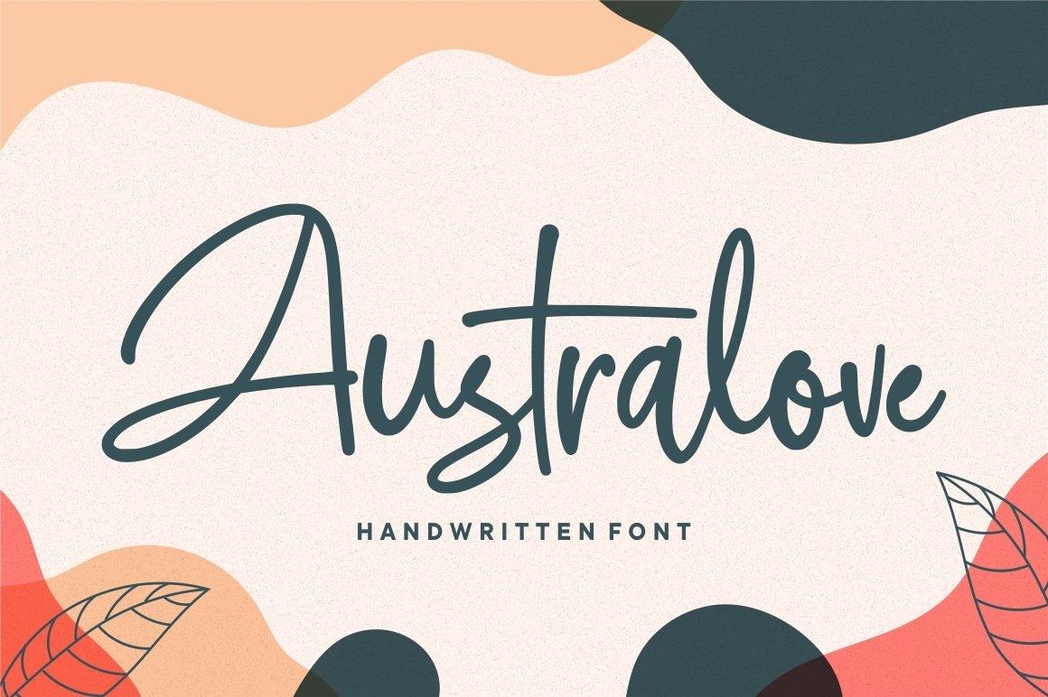 Australove-Font
