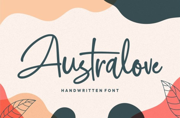 Australove Script Font