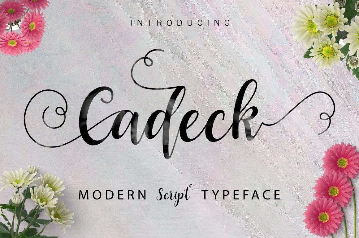 Cadeck-Font