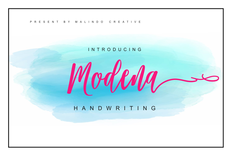 Modena-Font