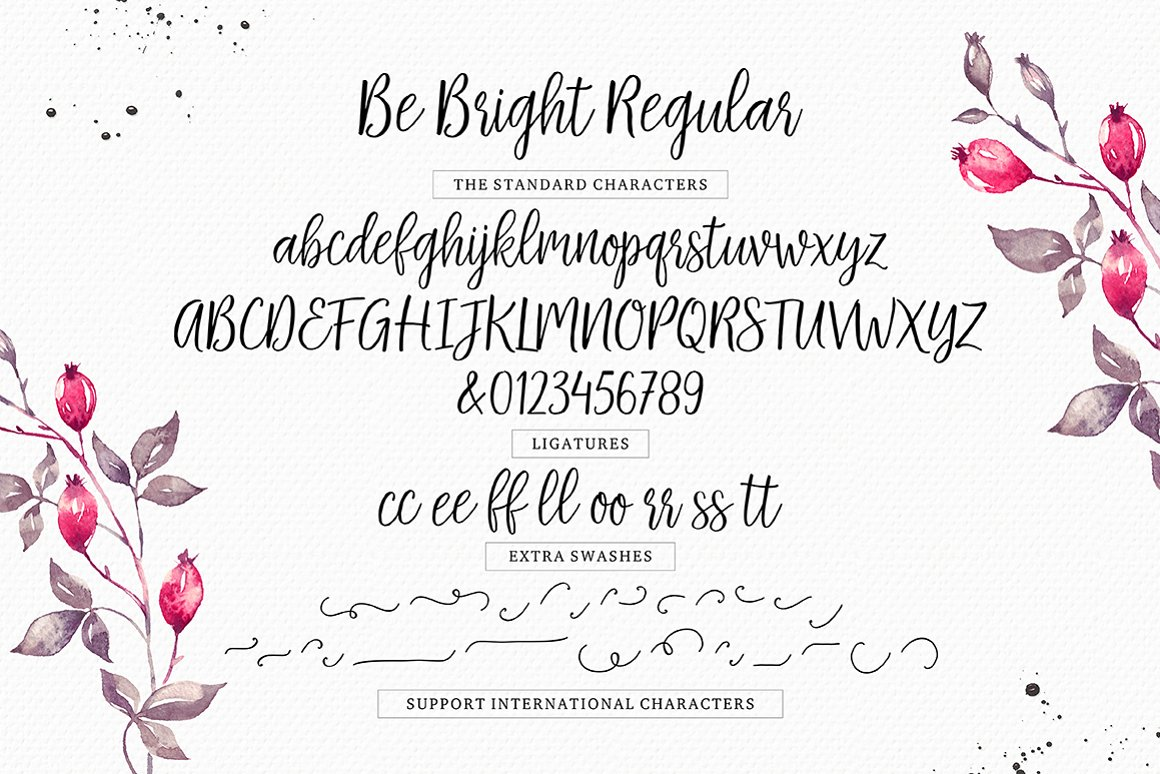 Be-Bright-Font-4