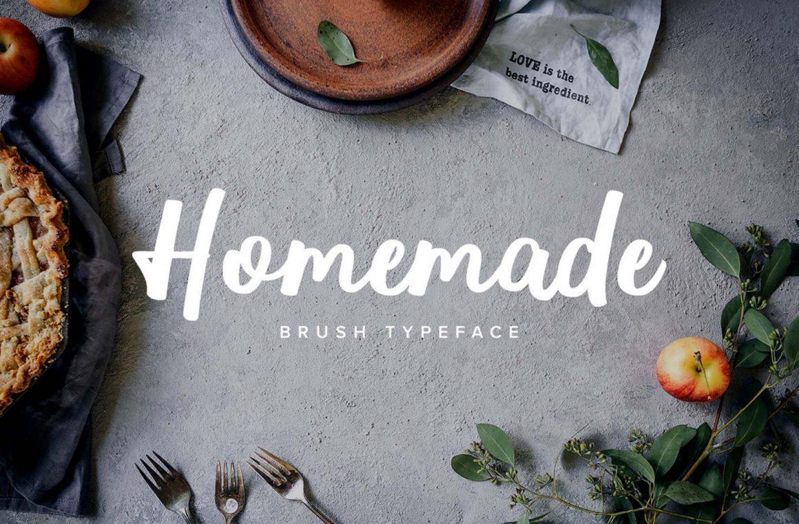 Homemade-Font