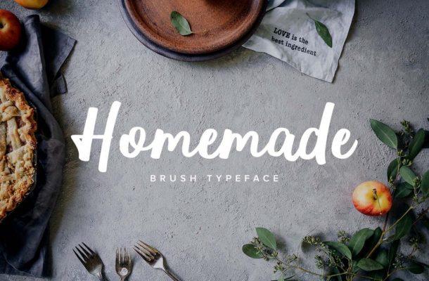 Homemade Script Font