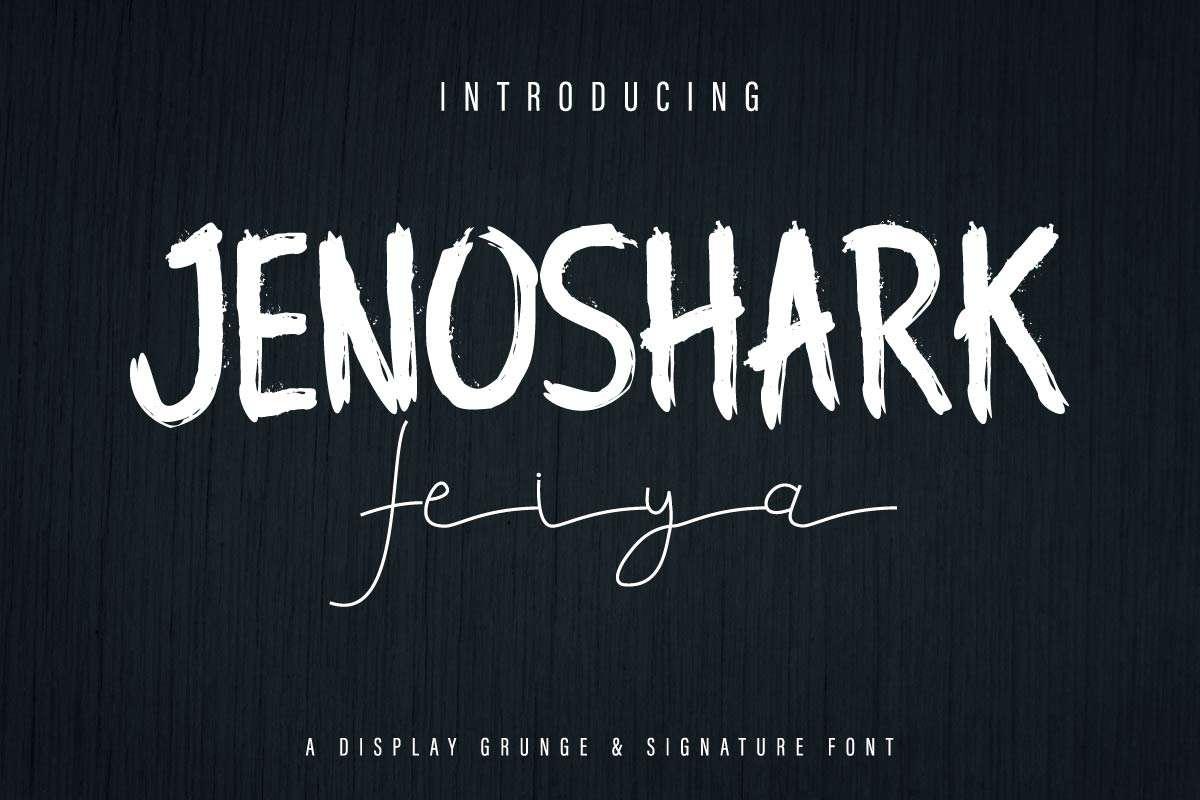 Jenoshark-Feiya-Font