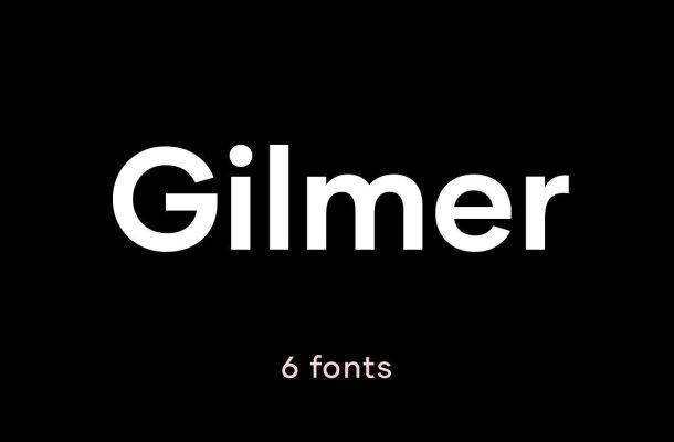 Gilmer Font Family