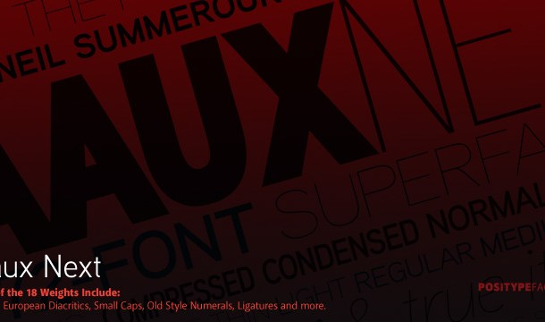 Aaux Next Compressed Font Family