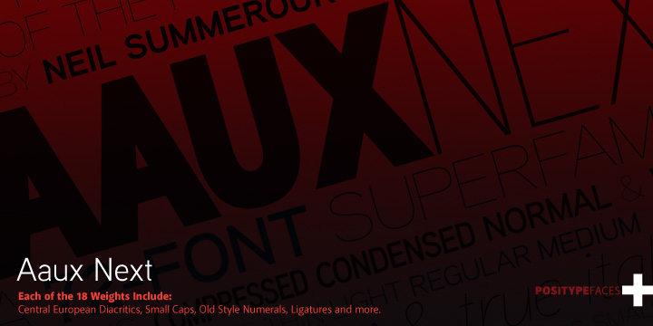 Aaux-Next-Compressed-Font