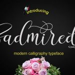 Admired Script Font