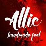 Allic Handmade Font