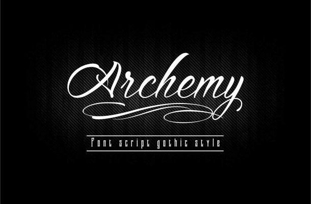 Archemy Script Font