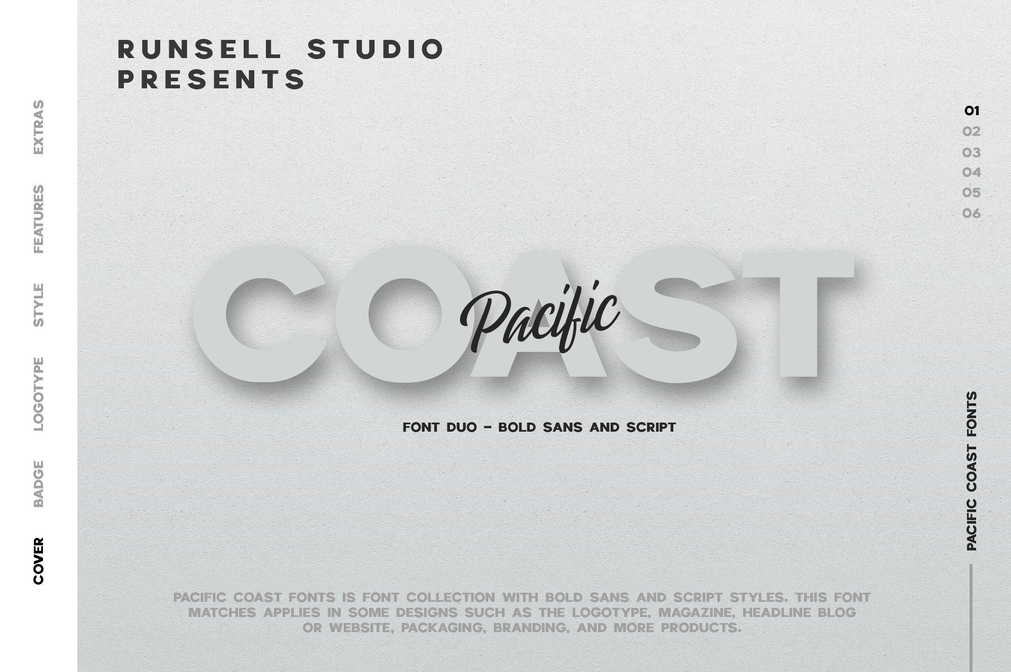 Pacific-Coast-Font