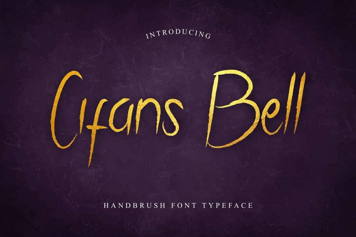 Cifans-Bell-Font
