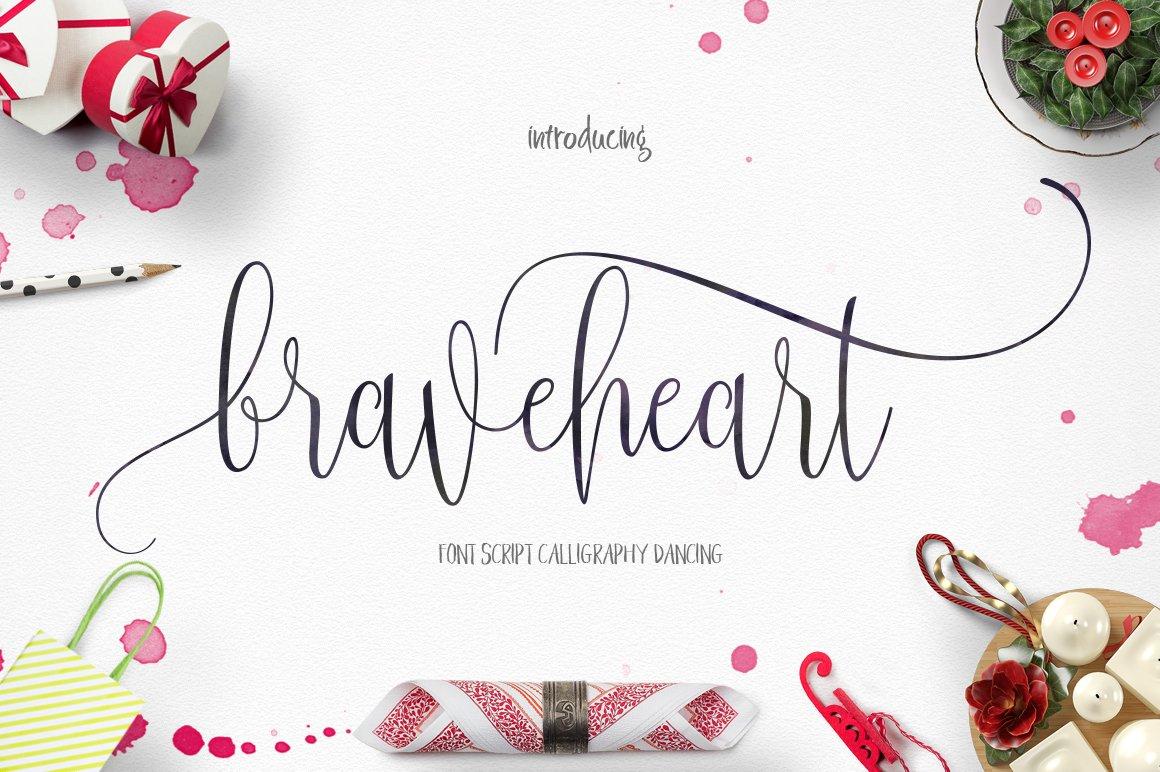 Braveheart-Font