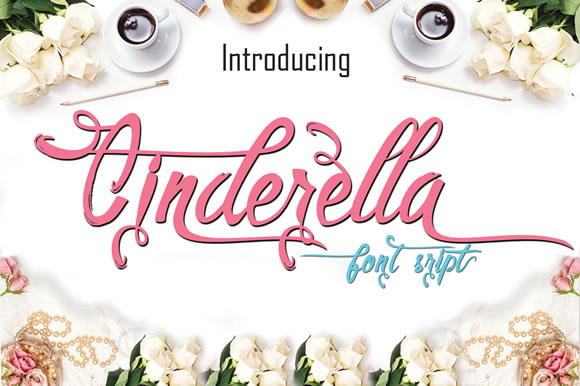Cinderella Script Font