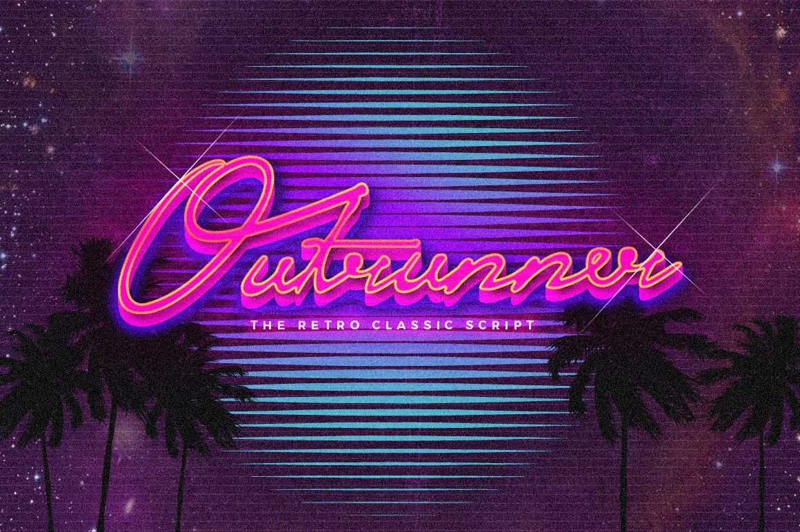 Outrunner-Font