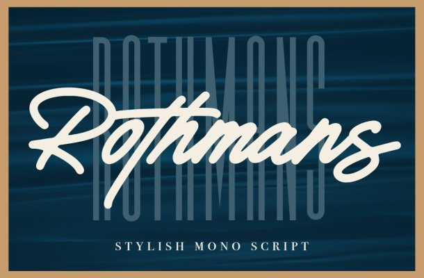 Calibre & Rothmans Font Duo