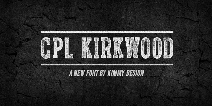 CPL-Kirkwood-Font