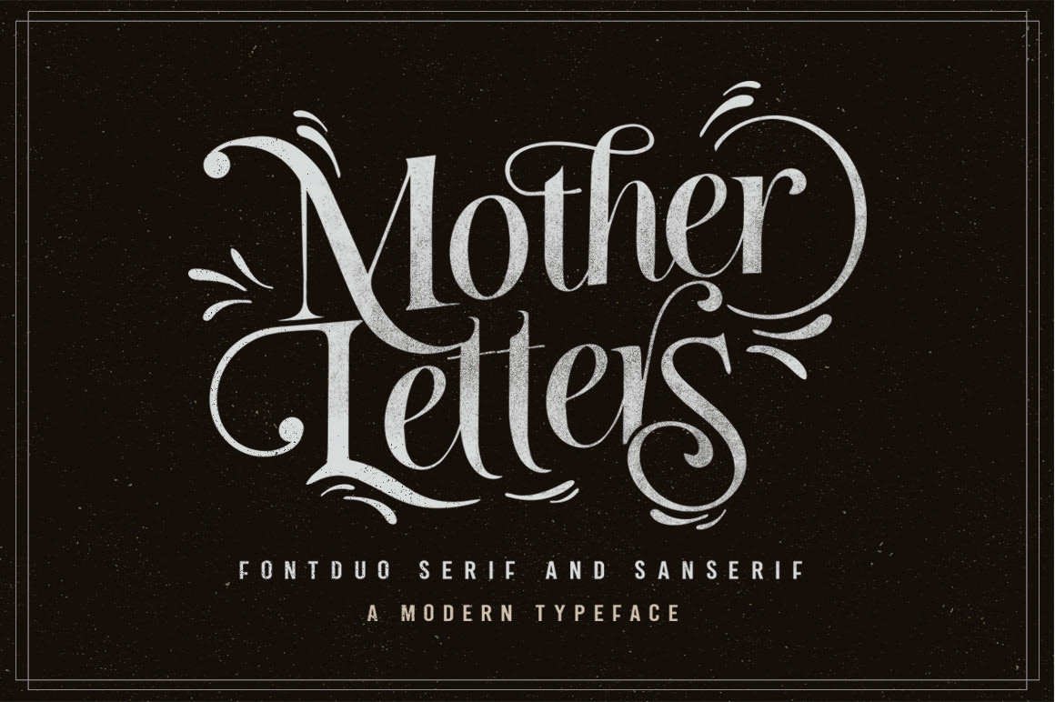 Mother-Letters-Font