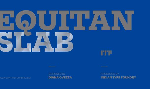 Equitan Slab Font Family
