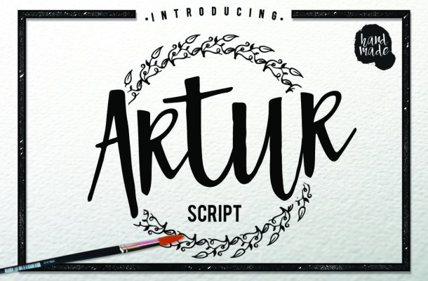 Artur Script Font