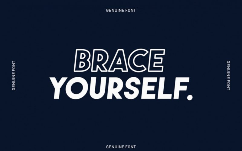 Download Genuine Free Font - Free Fonts