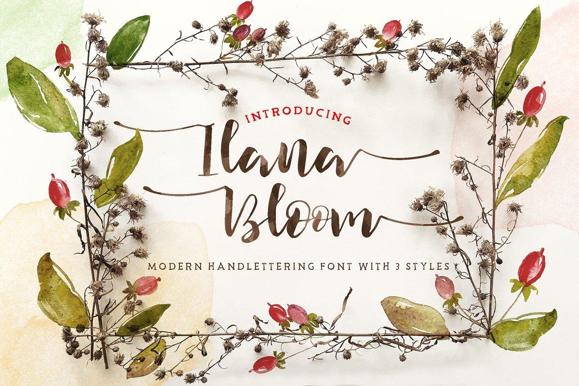 Ilana-Bloom-Font
