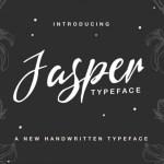Jasper Typeface
