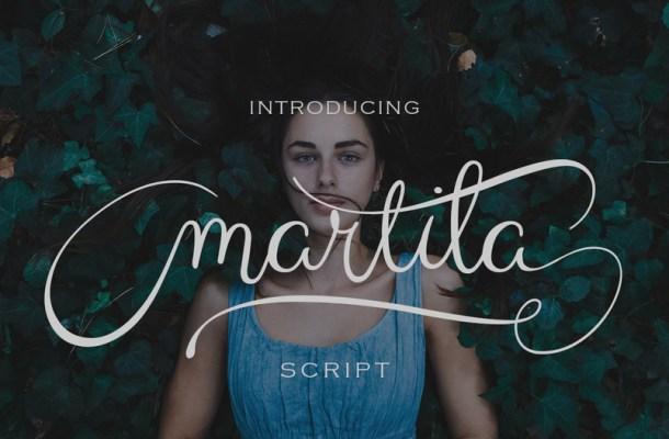 Martila Script Font
