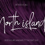 North Island Handwritten Font Duo
