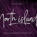 North Island Handwritten Font Duo