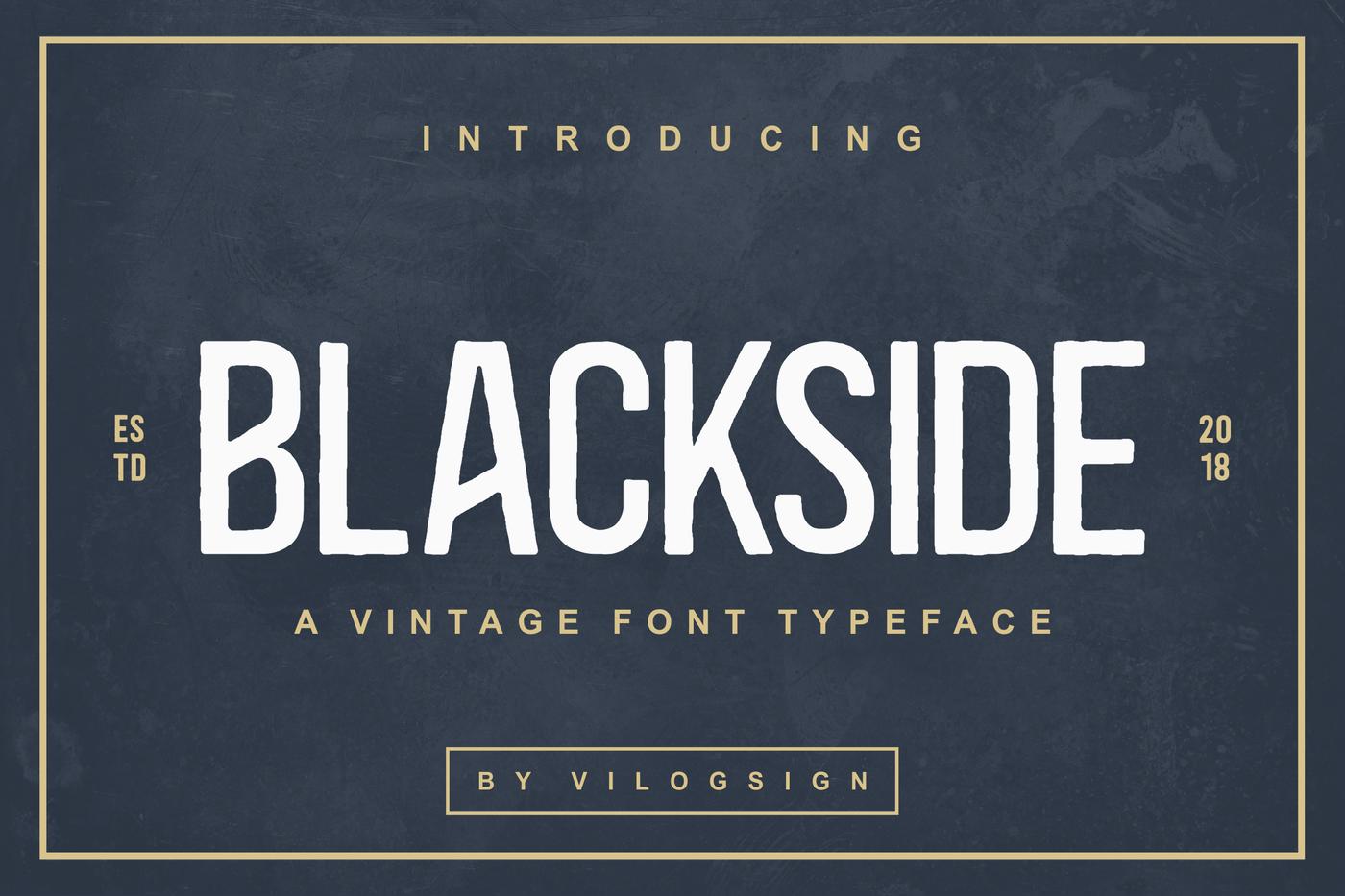 Blackside-Font