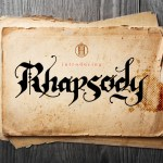 Rhapsody Black Letter Font