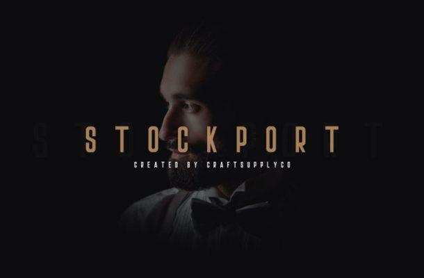 Stockport Sans Serif Font