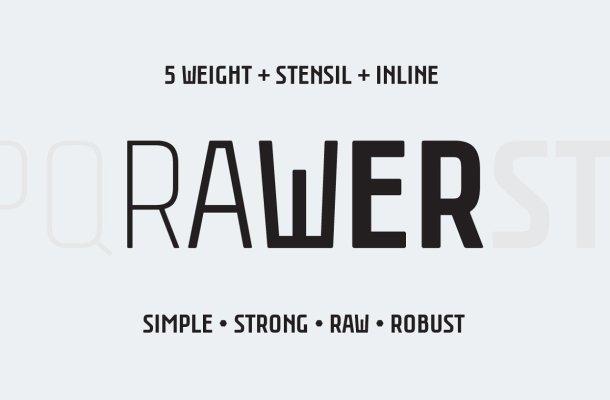 Rawer Font Family