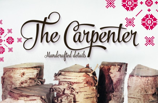 The Carpenter Script Font Family