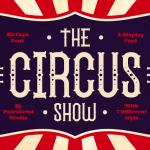 The Circus Show Display Font