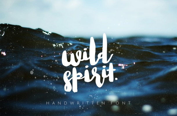 Wild Spirit Brush Font