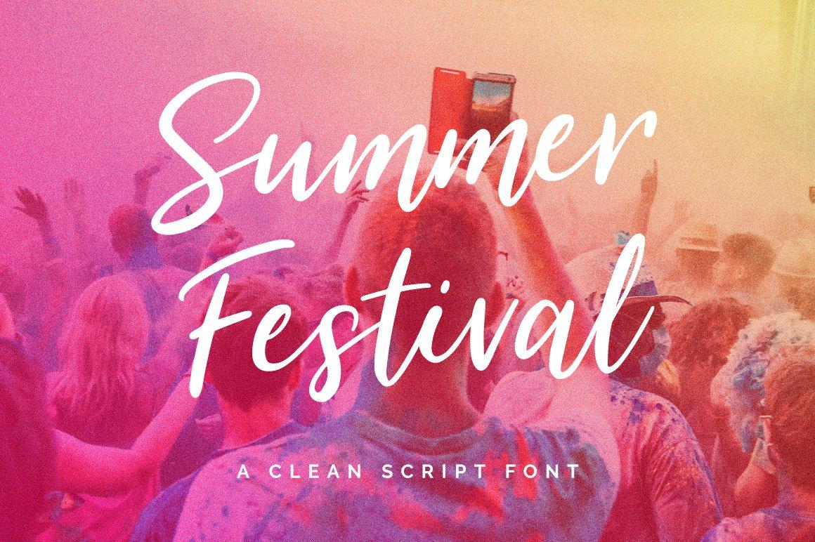 Summer-Festival-Font