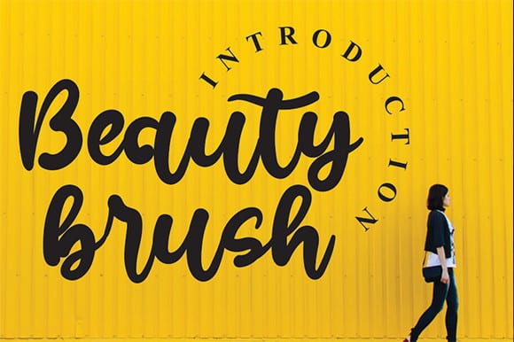 Beauty Brush Font