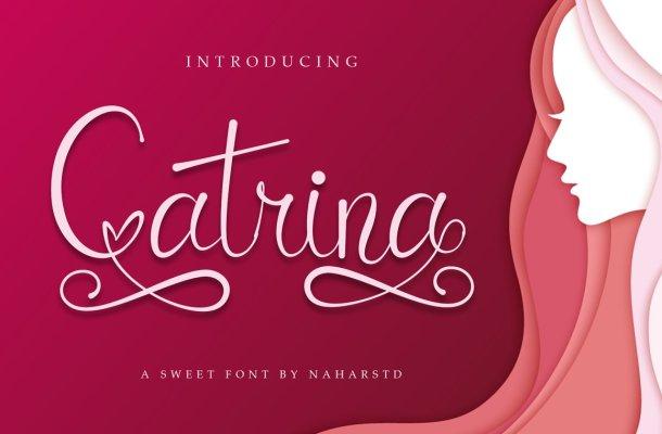 Catrina Script Font