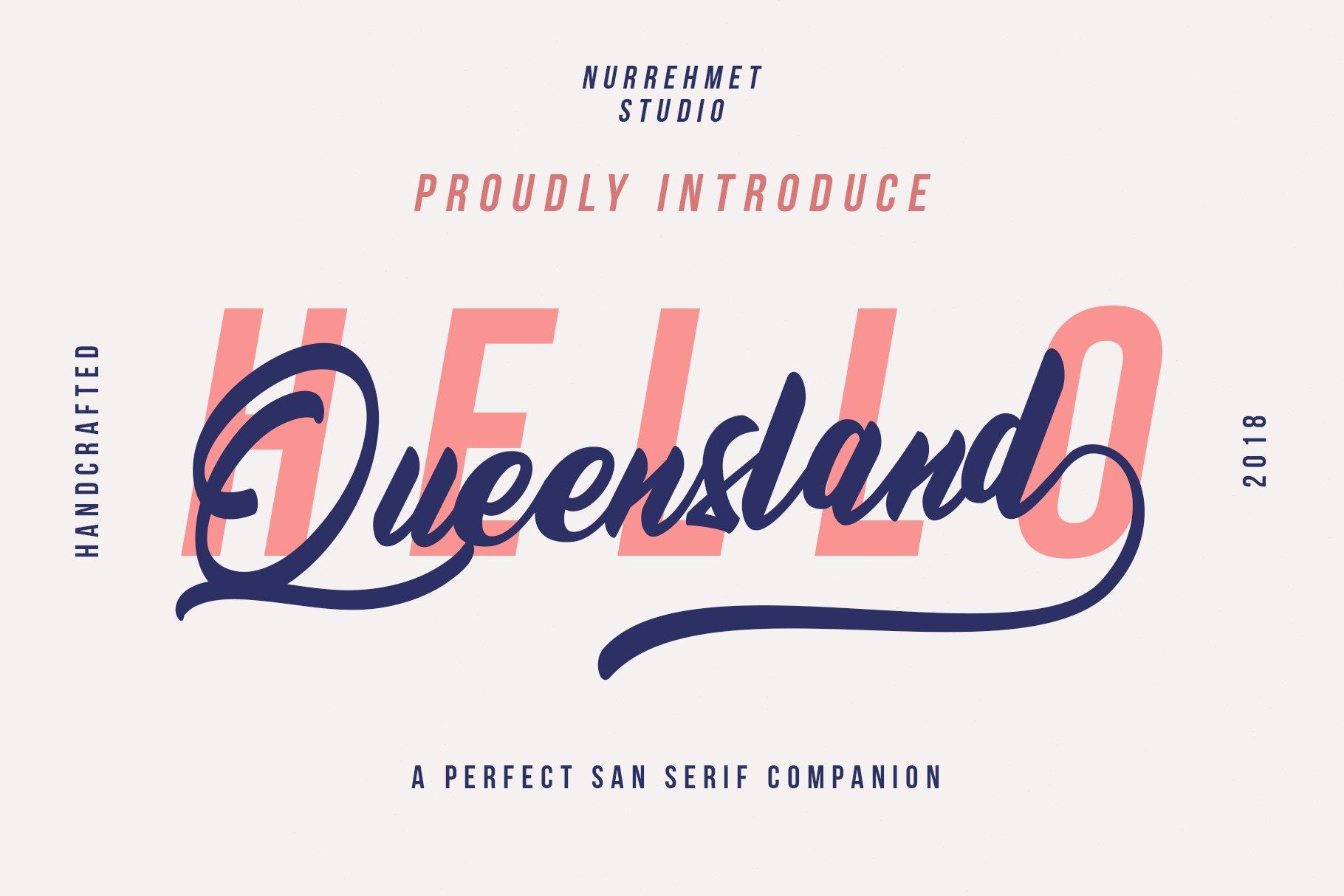 Queensland-font
