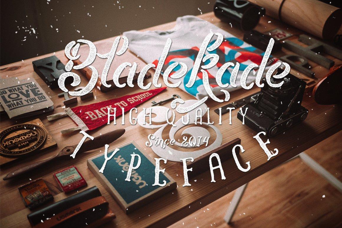Bladekade-Font