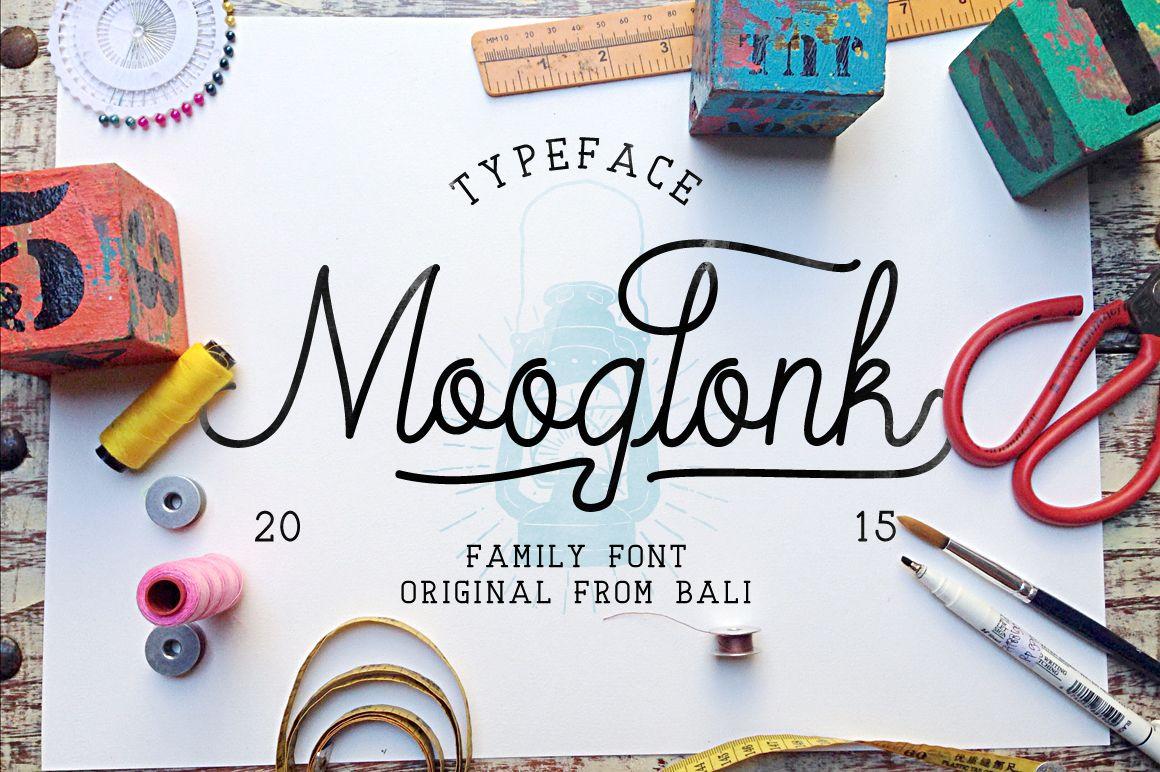 Mooglonk-Font