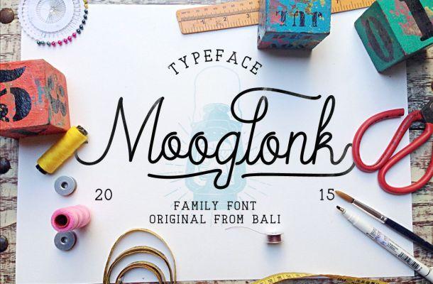 Mooglonk Font
