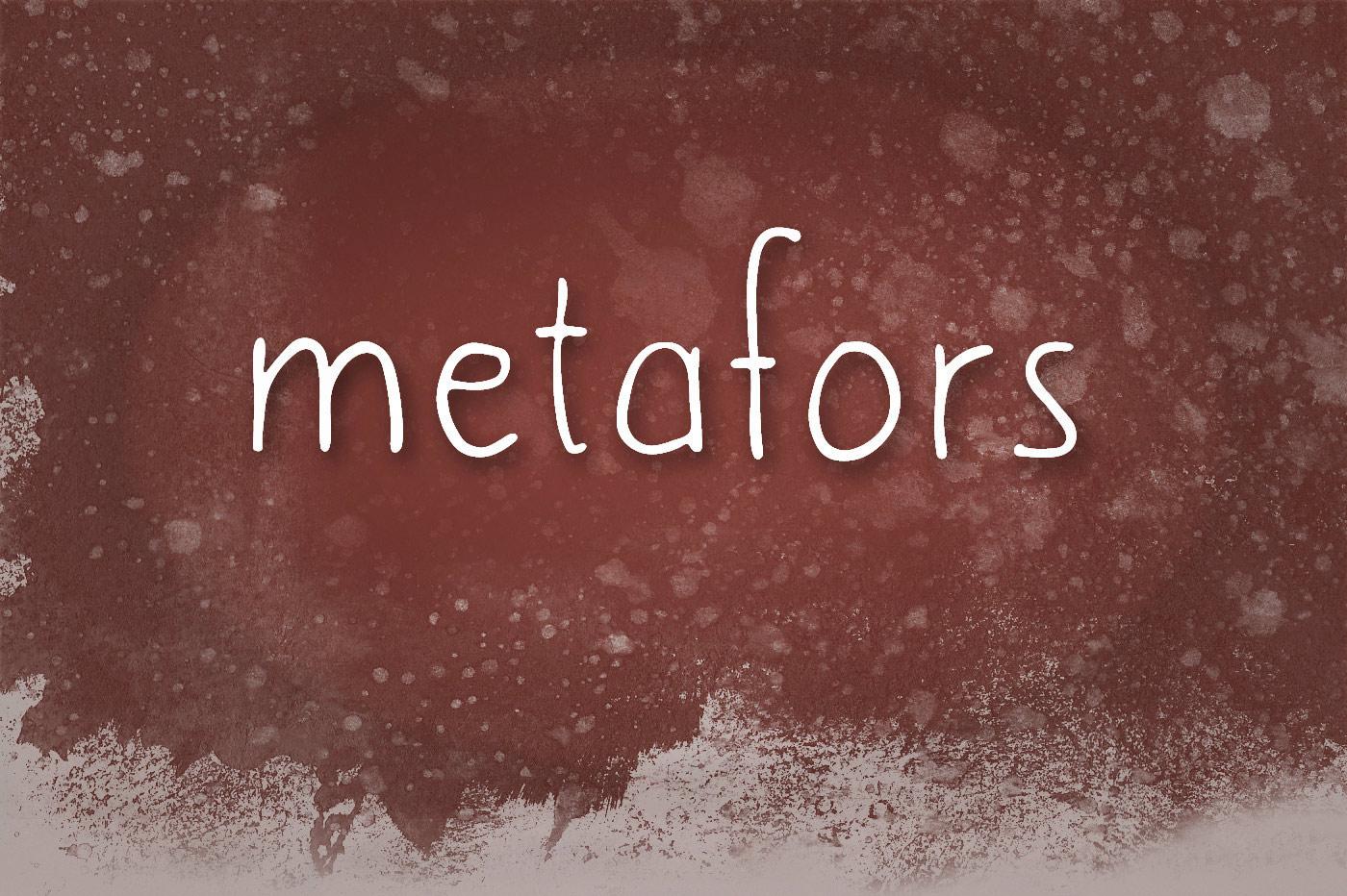 Metafors-Font