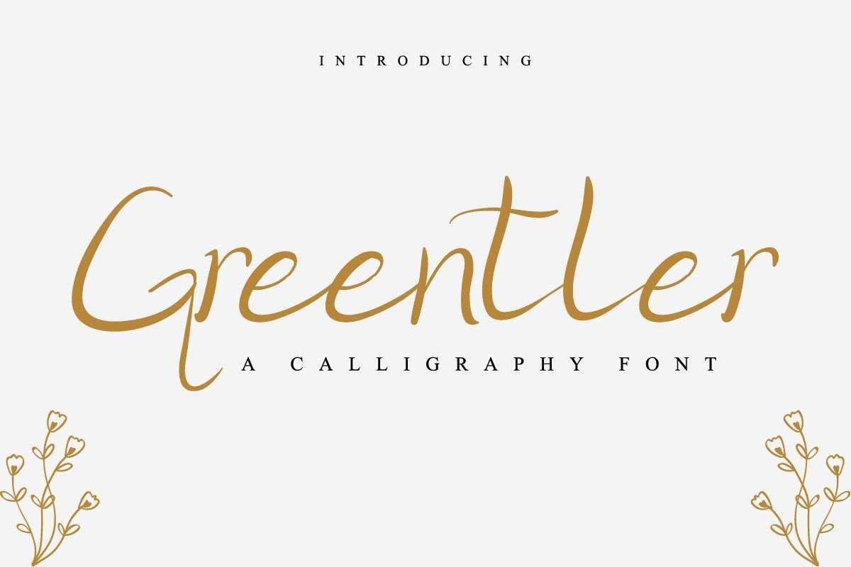 Greentler-Font