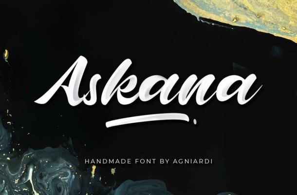 Askana Script Font
