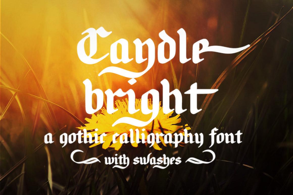 Candlebright-Font