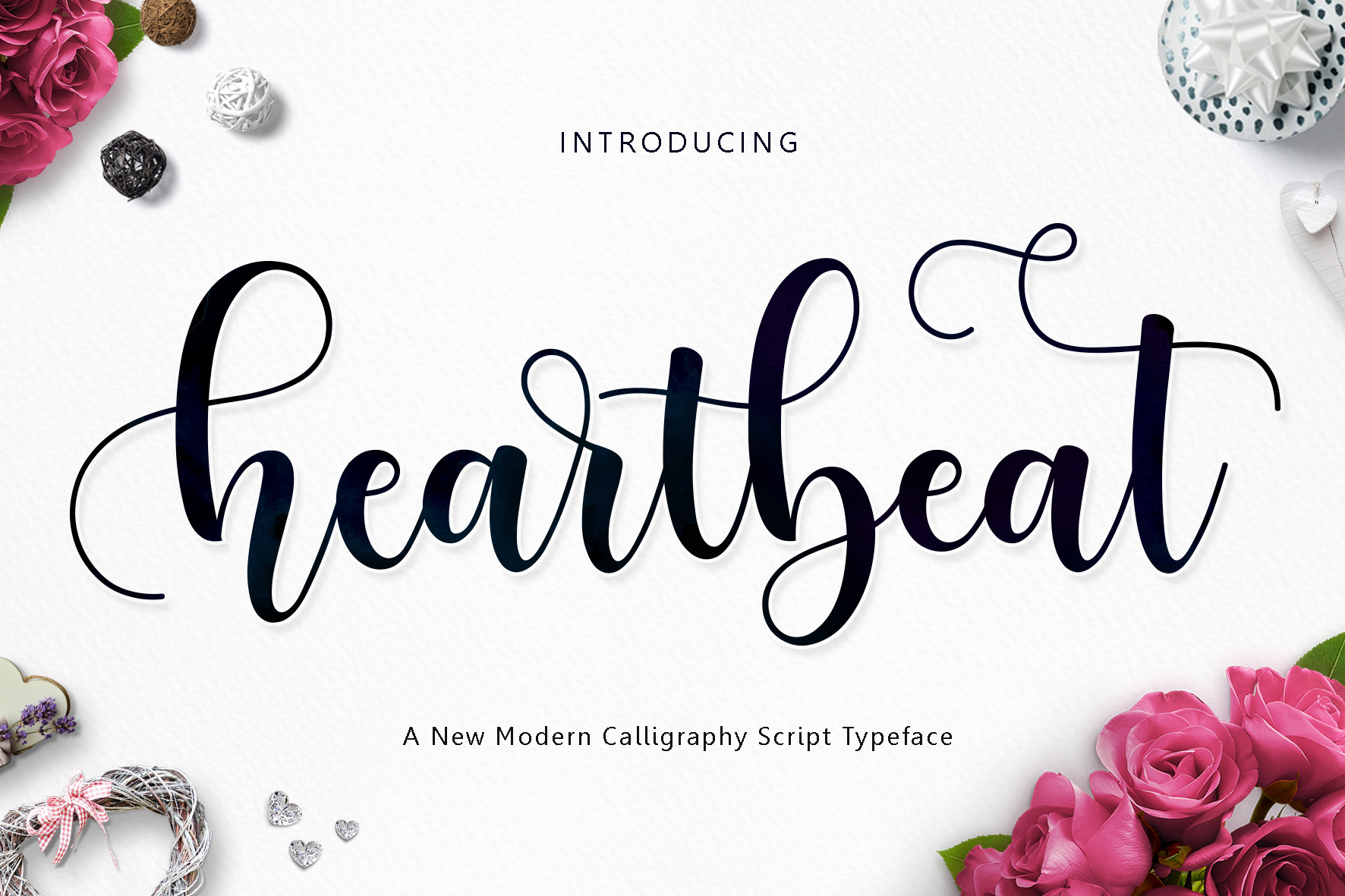 Heartbeat-Font